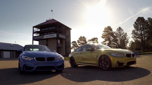 GoPro: The All-New BMW M3/M4 with GoPro App Integration - YouTube