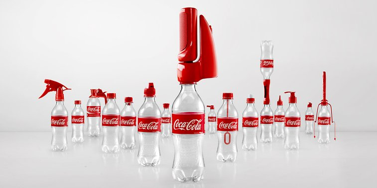 Coca-Cola Invents 16 Bottle Caps To Give Second Lives To Empty Bottles   Bored Panda