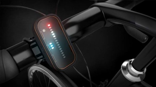Backtracker radar system warns cyclists of approaching cars