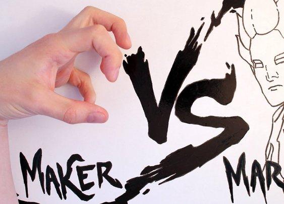 Maker vs Marker - YouTube
