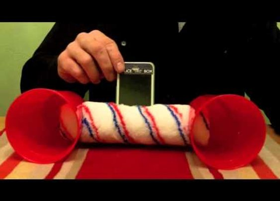 $2 DIY iPhone Speakers - YouTube