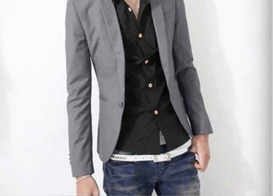 $20 Men's Tailored One Button Blazer