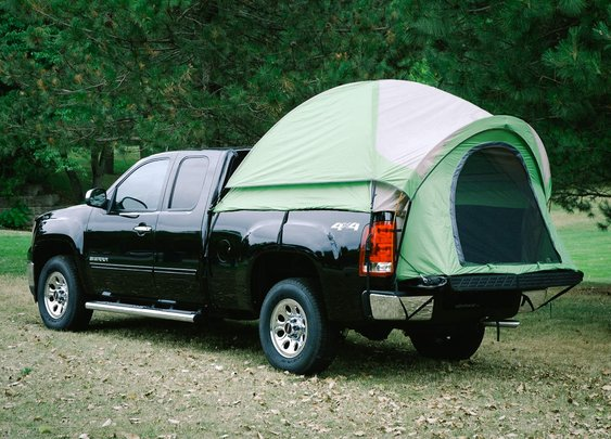 Pitch The Backroadz Truck Tent In Your Pickup - Supercompressor.com