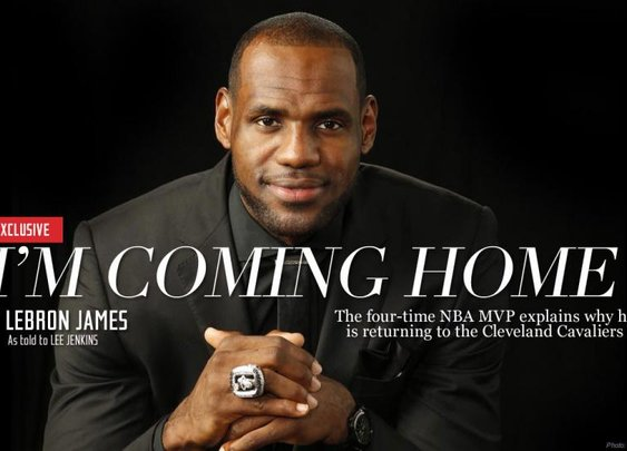 LeBron Essay: I'm coming back to Cleveland