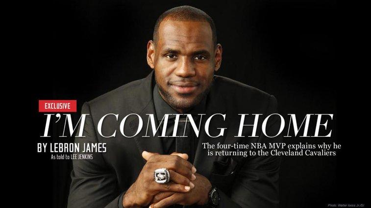 LeBron Essay: I'm coming back to Cleveland