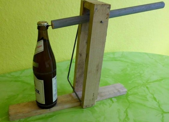 How To Make a Catapult Bottle Opener