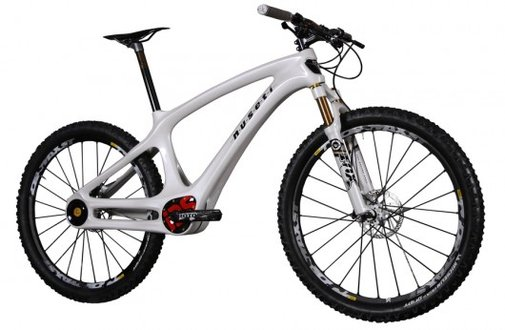 Nuseti mountain bike features a sealed drivetrain