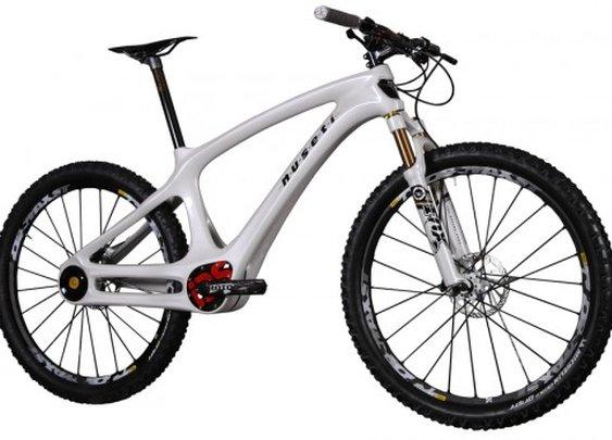 Nuseti mountain bike features a sealed drivetrain