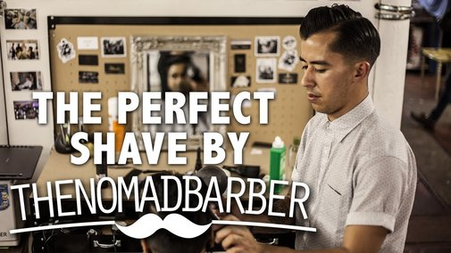The Perfect Shave by The Nomad Barber - YouTube