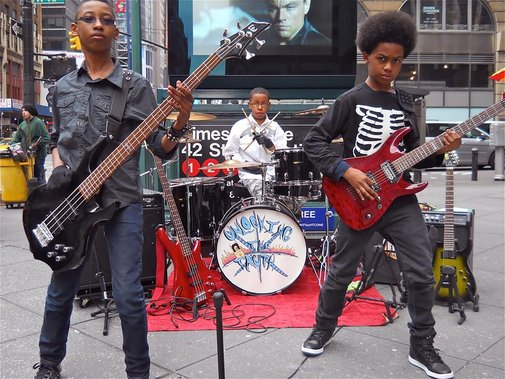 8th grade metal band lands $1.7 million record contract with Sony