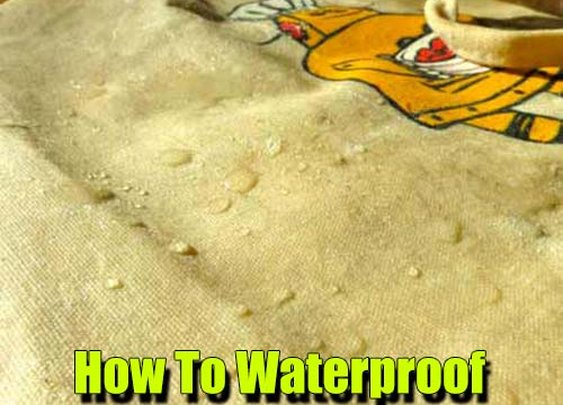 How To Waterproof Fabric At Home - SHTF Preparedness