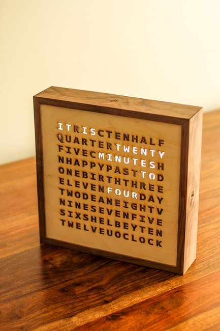 Birthday Word Clock - Imgur