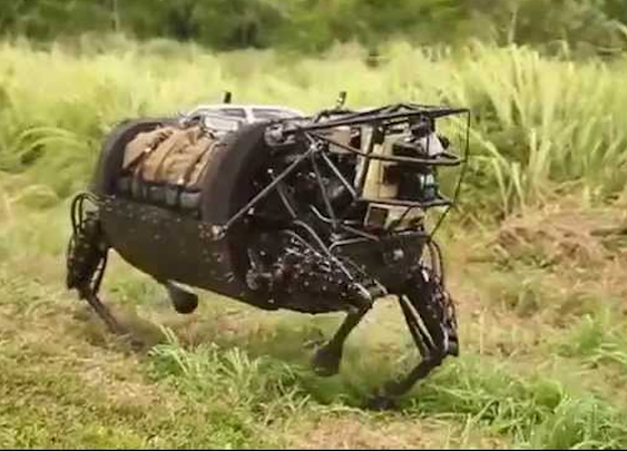 Big DARPA's Big Dog robot gets first taste of real-world action with U.S. Marines (VIDEO)