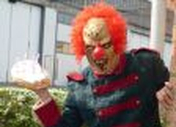 Evil Birthday Clown Stalks Your Child For A Fee