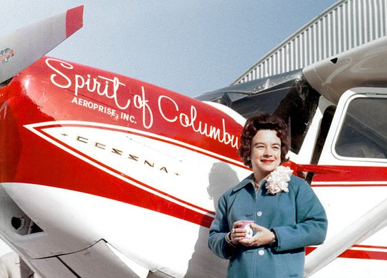 How An Ohio Housewife Flew Around The World, Made History, And Was Then Forgotten