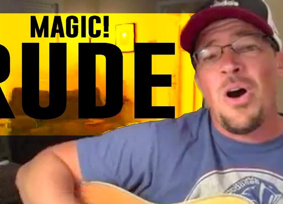 "Magic! ""RUDE (The Dad's Side of the Story)"" by Benji and Jenna Cowart (@BenjiJennaCow - YouTube"