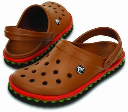 Burger Crocs: Fast-Foodwear That's Good For The Sole