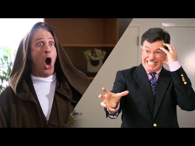 Jon Stewart and Stephen Colbert Fight Over Star Wars, Everybody Wins