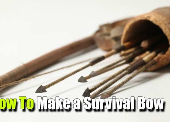 How To Make A Survival Bow - SHTF, Emergency Preparedness, Survival Prepping, Homesteading