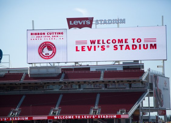Levi's Stadium, The New Home Of The San Francisco 49ers, Is Geek Heaven  |  TechCrunch