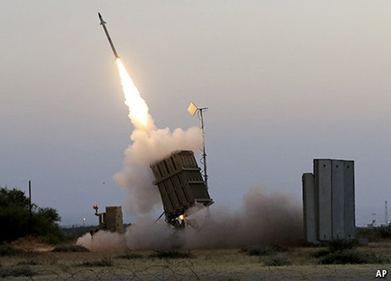 """How Israel's """"Iron Dome"""" Works"""