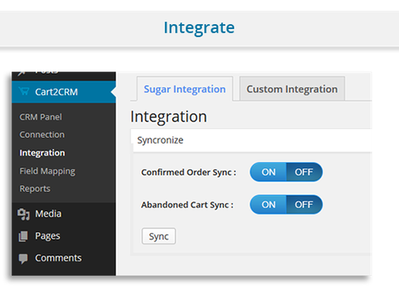 WordPress - Cart2CRM - Woocommerce and SugarCRM integration | CodeCanyon