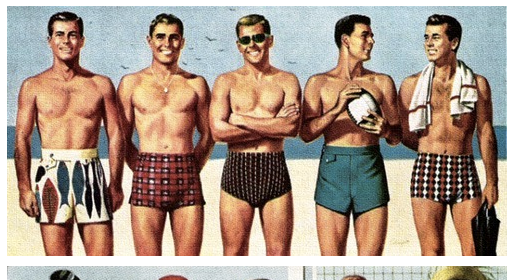 90f66c3424 A Man's Guide to Swimwear | The Art of Manliness | Gentlemint