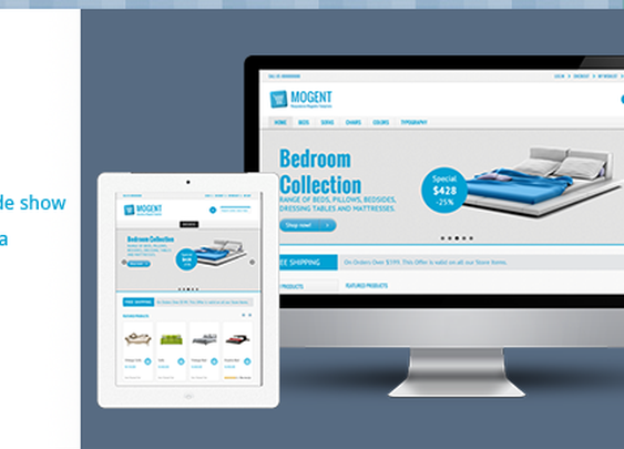 eCommerce - Mogent:  Mobile ready Magento template | ThemeForest