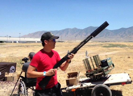 """SilencerCo """"Salvo"""" Shotgun Suppressor Full Speed Dump - YouTube"""