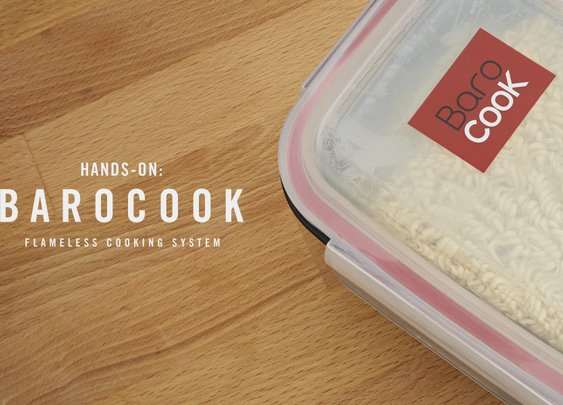 Hands-On With The Barocook Flameless Cooking System | Cool Material