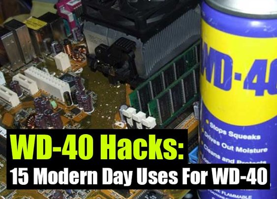 15 Modern Day Uses For WD-40 - SHTF, Emergency Preparedness, Survival Prepping, Homesteading