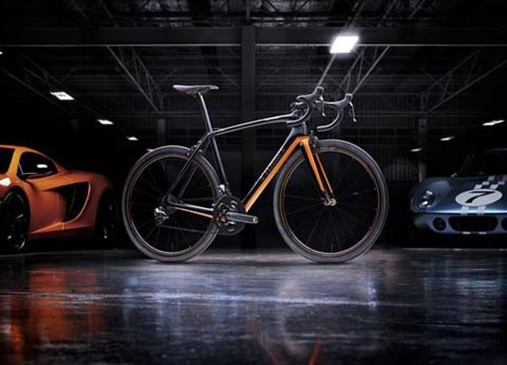 Specialized has teamed up with McLaren on a new state-of-the-art road bike