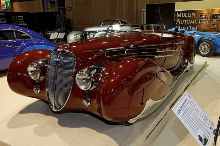 The Art Deco Design Era and the Automobile