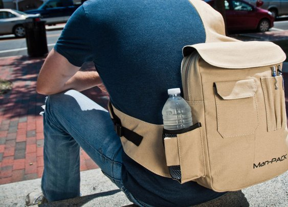 Man-PACK! | Ultimate guys carry bag... Pack light. Prepare well.