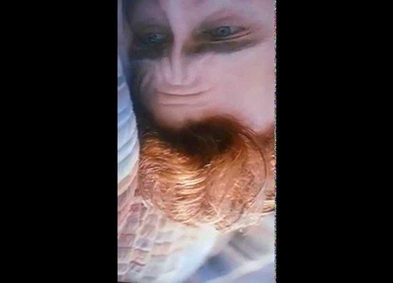 Joaquin Phoenix's Forehead (Rotated) - YouTube