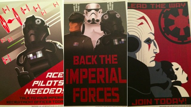 Propaganda Posters From The Dawn Of Star Wars Galactic Empire Gentlemint