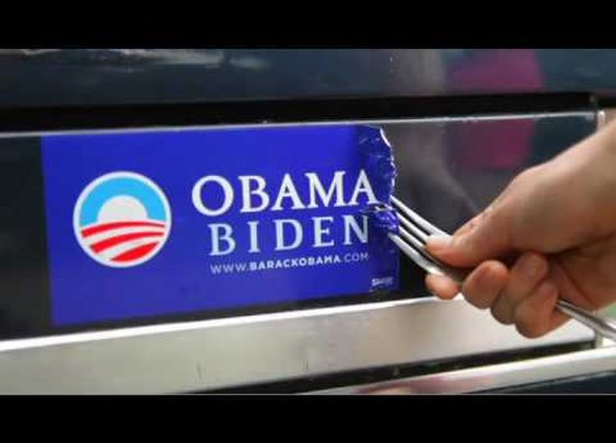 How To Video - Obama Bumper Sticker Removal Kit