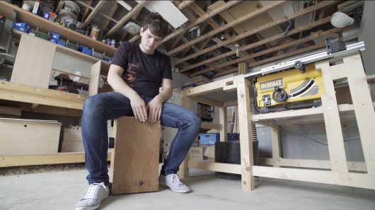 Ruach gives always-in-tune Live Series cajon its own kick