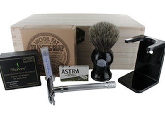 Introduce Yourself to Manly Shaving with a Merkur Safety Razor Gift Set!