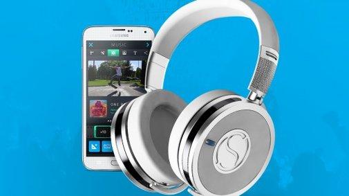 Soundsight headphones put HD video recording on tap