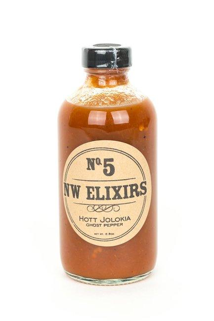 #5 Hott Jolokia (Ghost Pepper) Hot Sauce