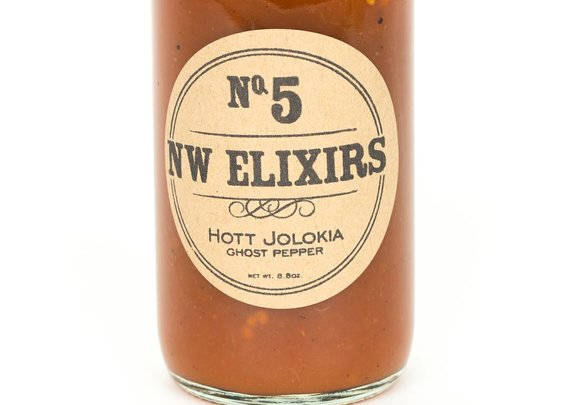 #5 Hott Jolokia (Ghost Pepper) Hot Sauce