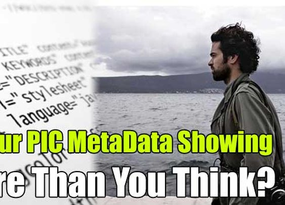 Is Your PIC MetaData Showing More Than You Think? - SHTF, Emergency Preparedness, Survival Prepping, Homesteading