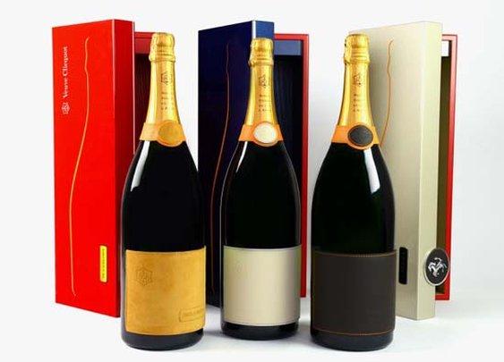 Ferrari and Veuve Clicquot Maranello Champagne Set 2014