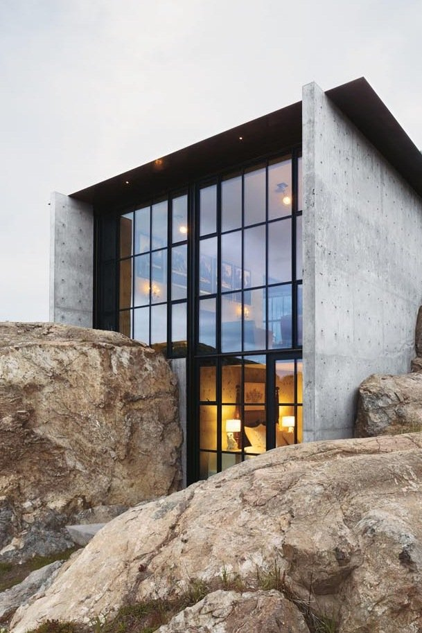 The Gilded Rage |  Concrete House by Olson Kundig Architects | Floeme