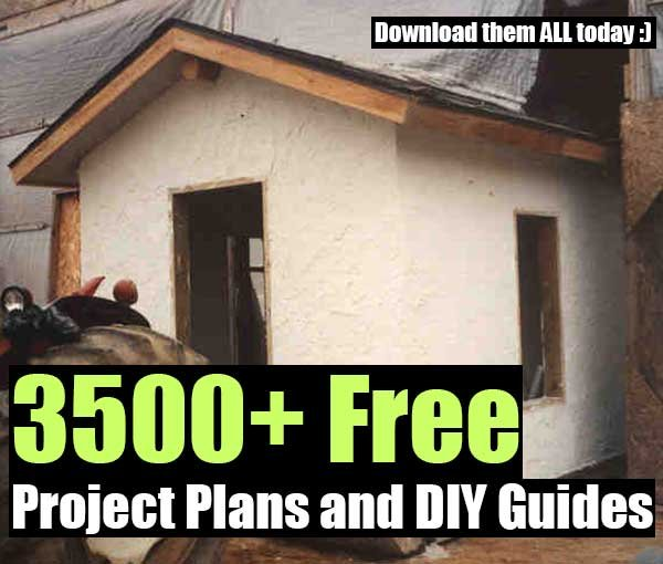 3500+ Free Project Plans and DIY Guides - SHTF, Emergency Preparedness, Survival Prepping, Homesteading