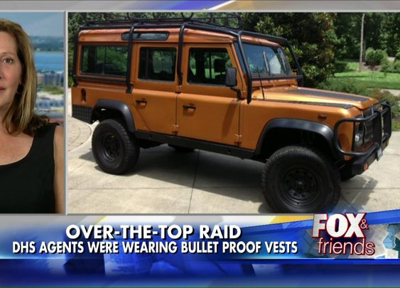 Feds Raid NC Woman's Home to Seize a ... Land Rover?! | Fox News Insider