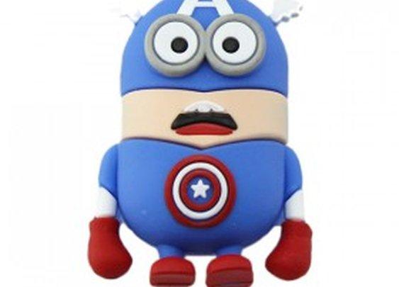 Captain America Minion Flash Drive