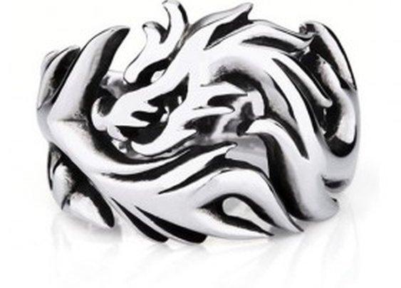 Dragon Band Fantasy Ring