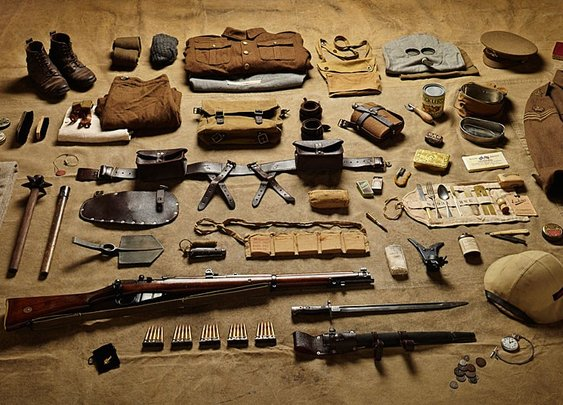 Inventories of war: soldiers' kit from 1066 to 2014 - Telegraph